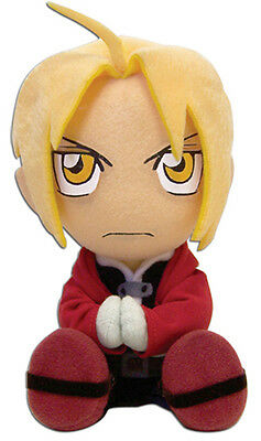 **Legit** Fullmetal Alchemist Brotherhood SD Edward Sitting 7'' Plush #6915