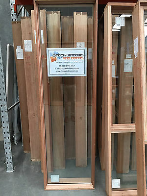 Timber Fixed Window 2105h x 606w - Double Glazed (BRAND NEW IN STOCK NOW)