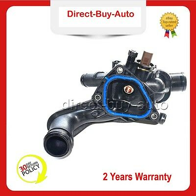 NEW Black Coolant Thermostat Housing 11537534521 For Mini One Cooper S R56 07-13