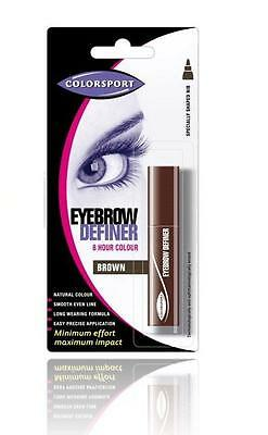 Colorsport Glimmerstick Eyebrow Eye Brow Brows Pencil Definer Black Brown Blonde