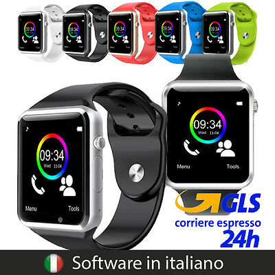SMARTWATCH A1 OROLOGIO BLUETOOTH PER IOS ANDROID e WINDOWS