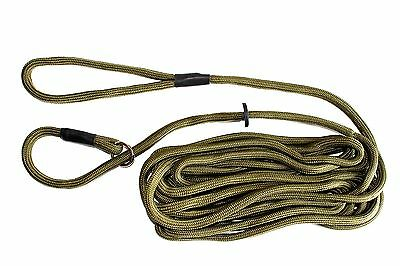 6 Meter Training Lead and Exercise Line - Green Super Soft Nylon