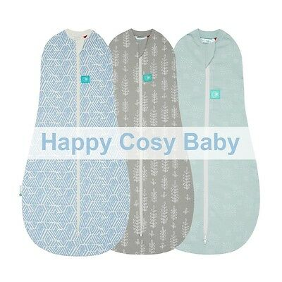 ergoPouch 0.2 TOG Ergococoon Summer swaddle sleeping bag 2-in-1