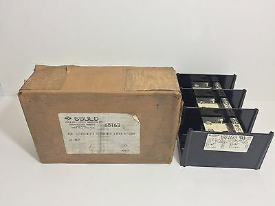 New! Gould Power Distribution Block 68163