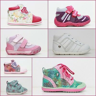 Baby Girl Shoes BARTEK Toddlers size: 2-7.5UK 18-25EUR 100%Leather Spring Autumn