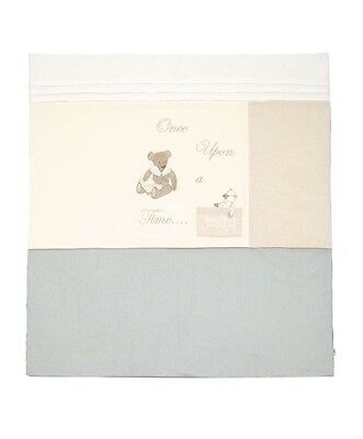 Sale! Mamas And Papas Once Upon A Time Cot Quilt Cot Bedding Millie & Boris Boys