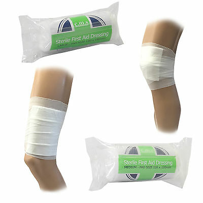 CMS Medical Individually Packed Sterile HSE FirstAid Wound Cut Dressing Bandages