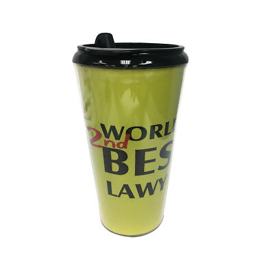 World's 2nd Best Lawyer Travel Coffee Mug Saul Goodman Better Call Greatest TV