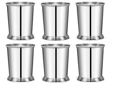 Mint Julep Cup PACK OF 6 Stainless Steel John Artis 38.5cl