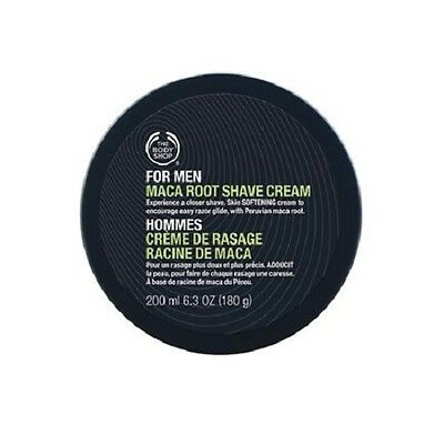 Body Shop Bestselling ◈ FOR MEN MACA SHAVE CREAM ◈ Softens Bristles ◈ 200ml