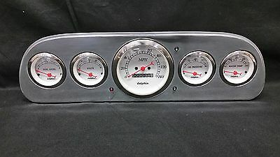 1960 1961 1962 1963 Ford Falcon Gauge Cluster White