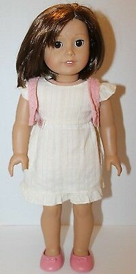 Our Generation Set Of 3 Dress Knit Vest Shoes Fits American Girl 18 Inch Doll