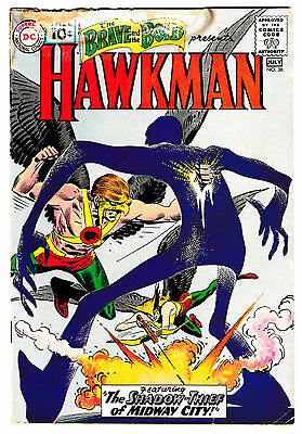 BRAVE AND THE BOLD #36 (GD/VG) 3rd Appearance of HAWKMAN & HAWKGIRL! DC 1961