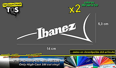 Ibanez zurdo pegatina 02-80´s left handed decal sticker aufkleber autocollant