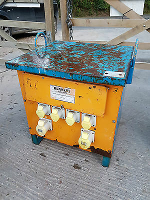 Blakley 10 KVA 415 volt to 110 volt 16/32 Amp Site Electric Transformer £165+vat