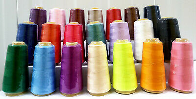 100% Silk Rayon Machine Embroidery thread various colors - Choose your own
