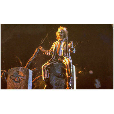 Beetlejuice Michael Keaton arms outstretched looking ahead 8 x 10 Inch Photo