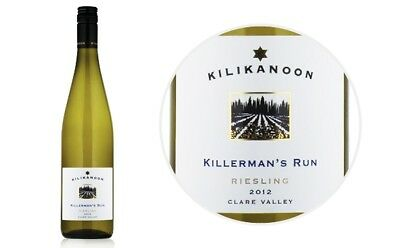 Kilikanoon 2012 Killerman's Run Riesling Clare Valley - 6 x 750ml Bottles