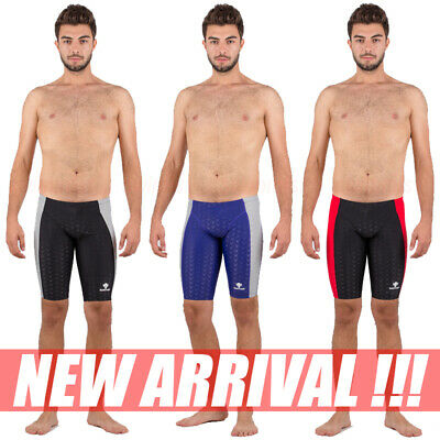 Nwt Hxby 1304 Mens Swimming Shorts Training Racing Jammer All Size Free Ship New
