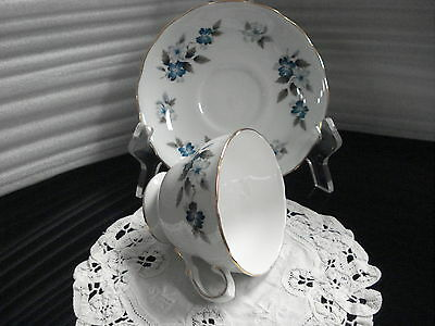 TEA CUP & SAUCER Colclough Pattern 8242  Made In England C1