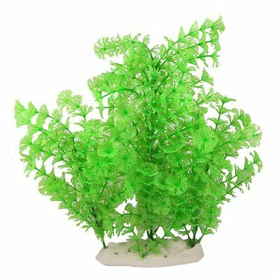 sourcingmap Aquarium Fish Tank Green 12.2  Emulational Water Plant Grass Decor
