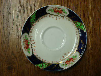 SAUCER ONLY Crown Chelsea MORRIS CIS Made In England M1