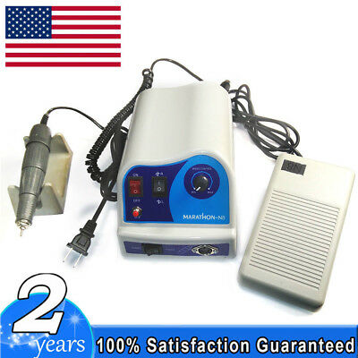 Dental Lab Polishing Marathon Micro Motor N8 + 45,000 RPM Handpiece for Dentist
