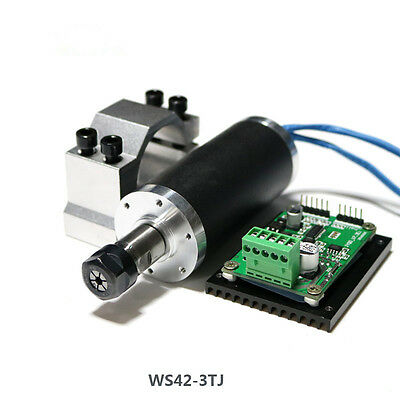250w ER11 12000rpm Brushless DC spindle motor&MACH3 driver&mount bracket CNC kit
