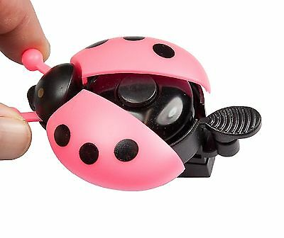 Sport Direct™ Bicycle Bike Childs Girls Flying Ladybird Bell Pink