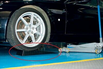 LOW RISE RAMPS for LOWERED CARS Profile Clears Bumper Giving Trolley Jack Access