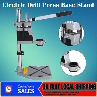AU Ship Universal Drill Press Stand with Heavy Duty Frame and Cast Metal Base