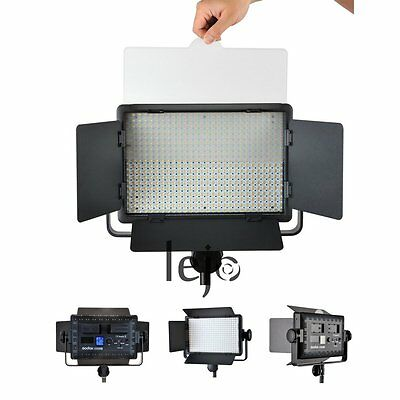 Godox LED500W Studio Video Light Continuous Camera Lighting Lamp Fr DV Camcorder