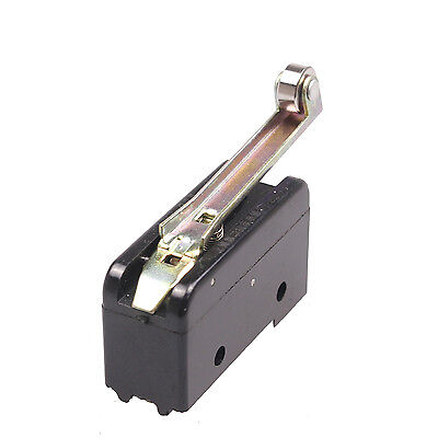 New 1pcs 1NO 1NC SPDT Momentary Parallel Roller Hinge Lever Limit Switch