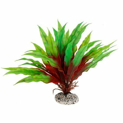 Sourcingmap Plastic Fish Tank Emulational Plant, 7.5-inch, Green  Red