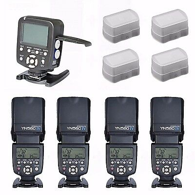 Yongnuo YN560-TX Wireless Controller for Canon + YN-560 IV Flash speedlite Kits