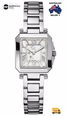 a36693d9fc BNIB GUESS COLLECTION Gc A52001L1 White Glam Steel
