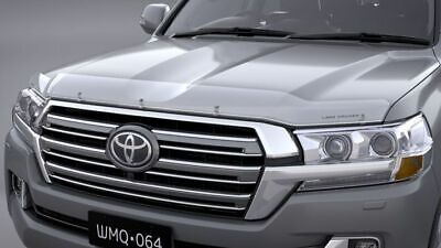 Toyota Land Cruiser 200 Series Bonnet Protector Clear Aug 2015 On PZQ15-60200