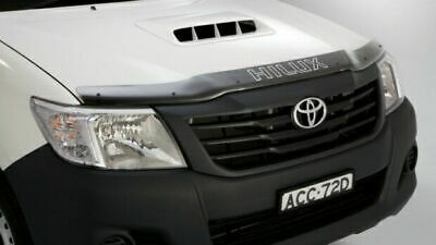 Genuine Toyota Hilux Bonnet Protector Tinted Sep 2011 - Jul 2015 PZQ15-89110