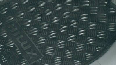 Genuine Toyota Hilux Front Rubber Floormats Feb 2005 - Aug 2011 PZQ20-89031