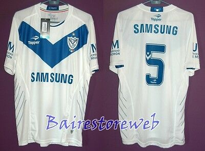 VELEZ SARFIELD jersey PLAYER ISSUE Champion 2012/13 #5 CUBERO Topper New