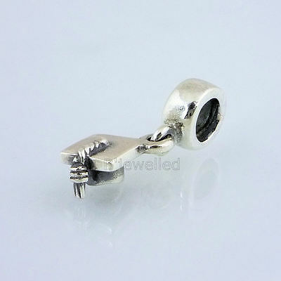 Authentic Genuine Pandora Sterling Silver Graduation Hat Charm - 790270