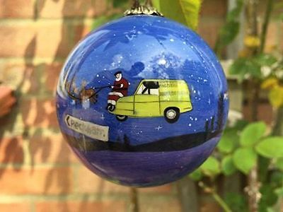 Only Fools & Horses Christmas Bauble Decoration GREAT GIFT IDEA BLUE