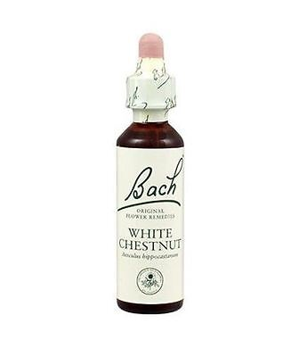 Dr Bach White Chestnut Bach Flower Rem 10ml