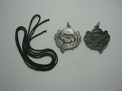 Bullet for my Valentine Rare doble sided Pendant Necklace Pewter Silver 015