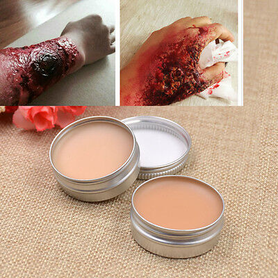 Wax Fancy Dress Special Effect Halloween Costume Fake Wound Accessory Makeup