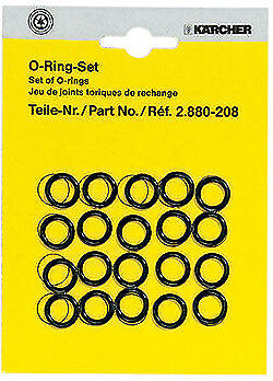 Karcher 2.880-208.0 Pressure Washer Hose / Nozzle Replacement O-Rings 20 Pack  2