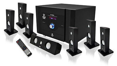Pyle PT798SBA 7.1 CH Bluetooth System 500 Watts Total Power