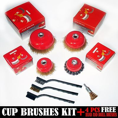 All In One ,Wire Cup Brush Kit