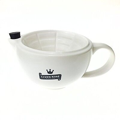 Crown King Victorian/Western Style 12 Oz Scuttle Durable Porcelain Hierloom New