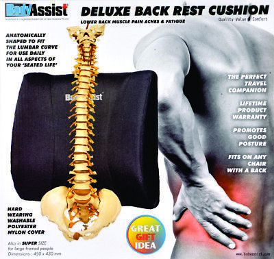 Deluxe Back Rest Cushion_BodyAssist
